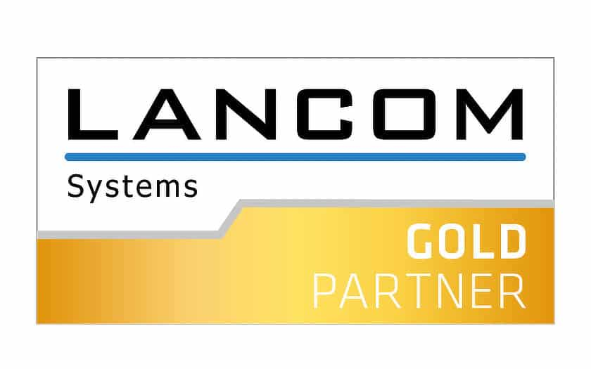 Lancom Systems Gold Partner Logo